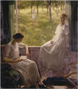 Sisters (1927) held by Ulster Museum